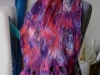 nuno scarf on dyed silk