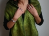 merino & silk seaweed scarf