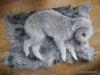 Olive's fleece felt mat