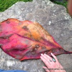 felted leaf one