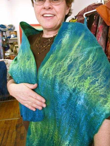seaweed scarf